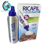 فوم تقویت کننده مو ریکاپیل مدل 3in1 Hair Loss Treatment حجم 200 میلی لیتر