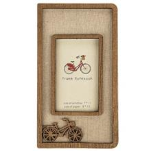 Frame Bicycle Design Notebook Size 18 in 10cm