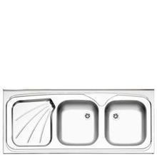 سینک ظرفشویی روکار استیل البرز 220