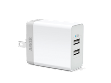 Anker 20W Dual Port USB Wall Charger