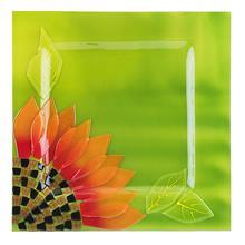 بشقاب شیشه ای گالری گلکار کد 75026