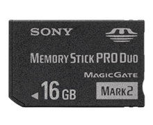 Sony Pro Duo Card 16GB