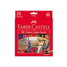 مداد رنگي 24 رنگ Faber-Castell مدل کلاسيک کد 115854