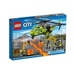 City Volcano Supply Helicopter 60123 Lego