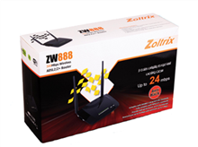 Zoltrix ZW888-3G-300mbps-Wireless-ADSL2+Router
