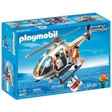 ساختني پلي موبيل مدل Fire Fighting Helicopter