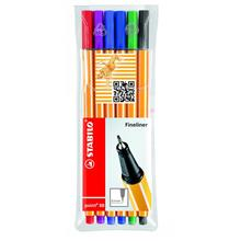 Stabilo Point 88 Fineliner 6 Colors Pen