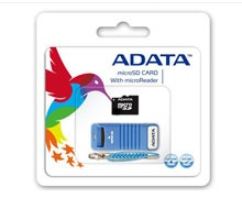 Adata MicroSD Card 4GB With Adapter