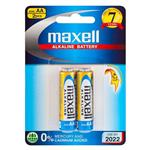 Maxell Alkaline AA Battery Blister Pack Of 2