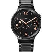 Huawei Watch Black Steel Case SmartWatch With Black Link Bracelet