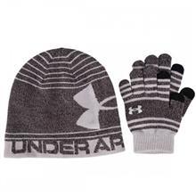 ست کلاه و دستکش پسرانه آندر آرمور مدل UA