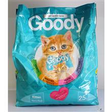 غذای خشک بچه گربه و گربه های آبستن گودی