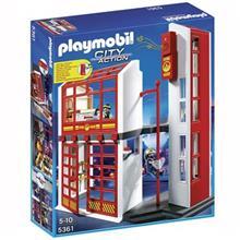 ساختني پلي موبيل مدل Fire Station with Alarm 5361