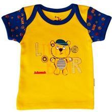 تی شرت اسپرت آستین کوتاه آدمک طرح خرس کوچولو