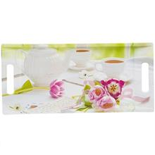 سيني باريکو مدل Tea And Tulips سايز 19x41 سانتي متر