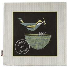 Yenilux Sparrow Bird Cushion Cover