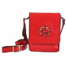 کیف چرم دستدوز دیبا کد 178005 دوشی
