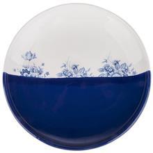 بشقاب سرامیکی گالری میرانام طرح گل آبی