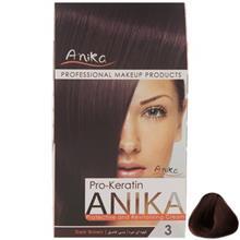 کيت رنگ مو آنيکا سري Pro Keratin مدل Natural شماره 3