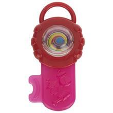 دندان گير پلي گو مدل Baby Teething Key Pink
