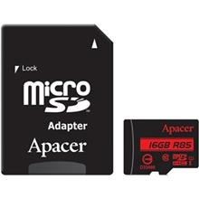 Apacer UHS-I U1 Class 10 85MBps microSDHC With Adapter - 16GB