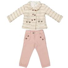 Pallone 51-563 Baby Girl Clothing Set