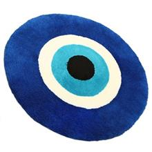 Farsh Maryam Large Circle Evil Eye Door Mat