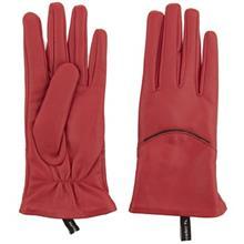 دستکش زنانه چرم مشهد مدل Red R172