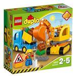 Lego Duplo Truck Tracked Excavator 10812
