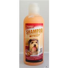 شامپو مخصوص سگ های با موهای بلند فلامینگو