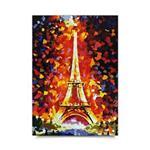 پوستر ونسونی طرح Eiffels Ceremony سایز 50x70