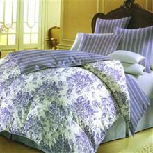 Laico Vivana golsareh banafsh 1 Persons 2 Pieces Duvet Set