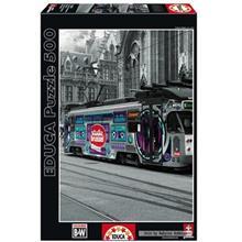پازل 1000 تکه ادوکا مدل Ghents Tram Belgium
