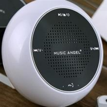 Music Angel JH-MAQ5BT Portable Bluetooth Speaker White