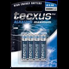 tecxus AA / LR6 Battery - 4pc pack