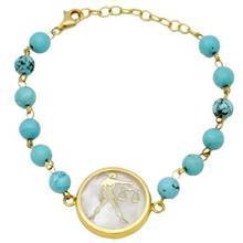 دستبند طلا ماهک مدل MB0123