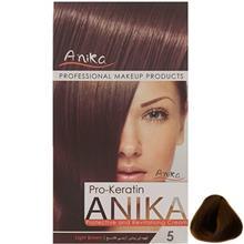 کيت رنگ مو آنيکا سري Pro Keratin مدل Natural شماره 5