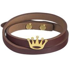 دستبند طلا 18 عیار تاج درسا مدل 512