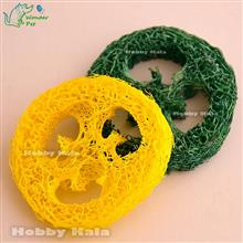 لیفهای تمیز کننده دندان زرد و سبز | Loofah Teeth Cleaning Yellow & Green