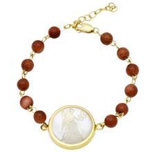 دستبند طلا ماهک مدل MB0126