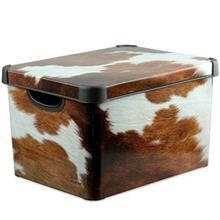 جعبه دکوری دردار کرور مدل Cow سایز بزرگ