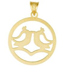 Rosa N003 Gold Necklace Pendant Plaque