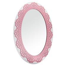 آینه دیواری ام دی اف گالری کارن دکور طرح بیضی