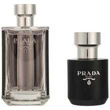 Prada Le Homme Eau De Toilette Gift Set for Men 100ml