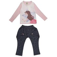 Deno 16S1-018 Baby Girl Clothing Set