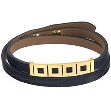 دستبند طلا 18 عیار تاج درسا مدل 131
