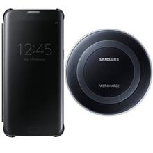Samsung EP-PN920 Wireless Charger Stand And LED View Flip Cover For Samsung Galaxy S7 Edge