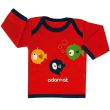 Adamak Fish Baby T Shirt With Long Sleeve