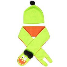 Deno 15STK-CILGN Baby Hat And scarf Set