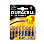 Duracell Plus Power Duralock AAA Battery Pack Of 15 Plus 5